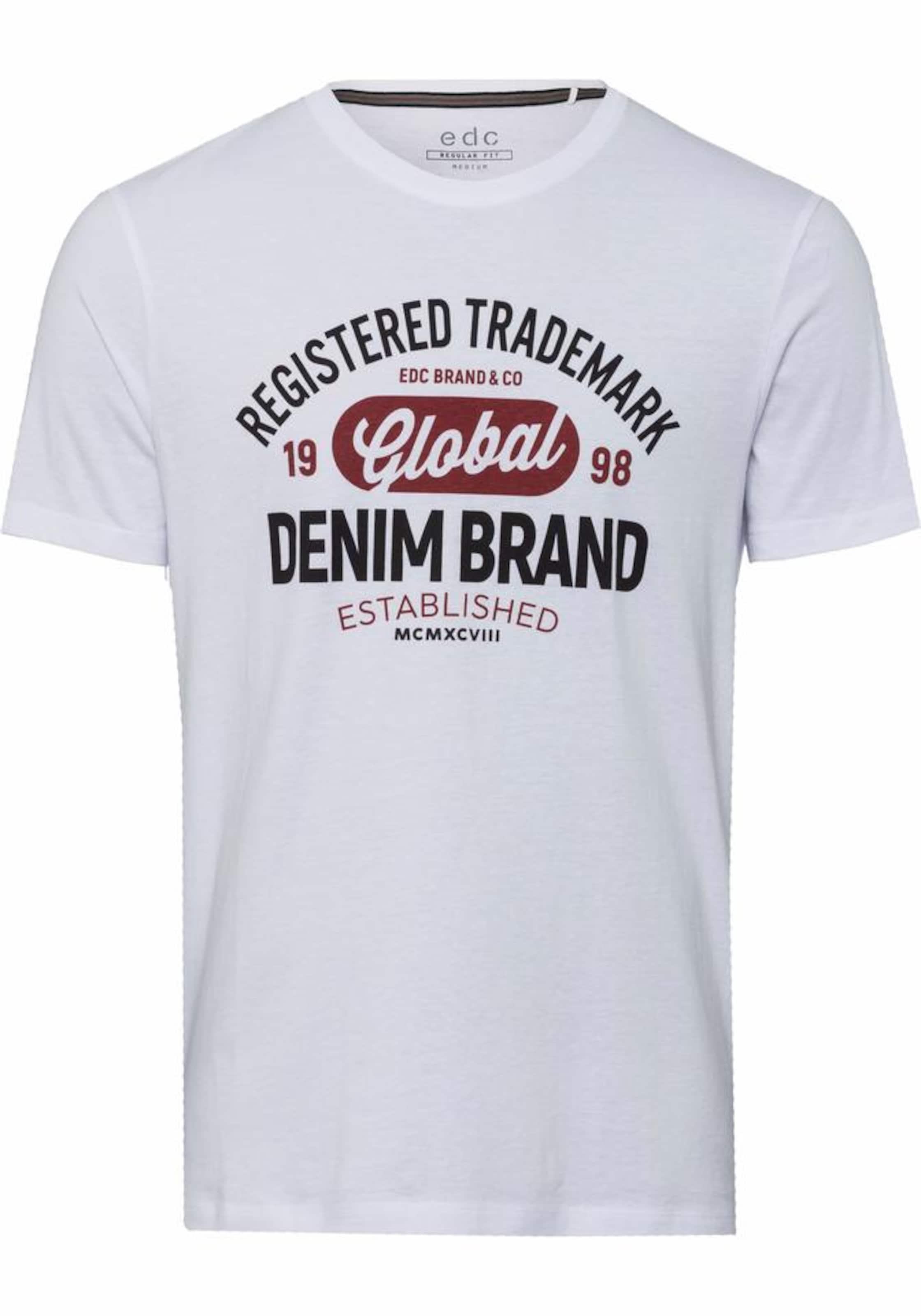 Günstiges Online-Shopping EDC BY ESPRIT T-Shirt Billig Verkauf Versand Niedriger Preis Gebühr Wie Viel Günstig Online Fälschung Günstiger Preis Amazon Online iN0Gh