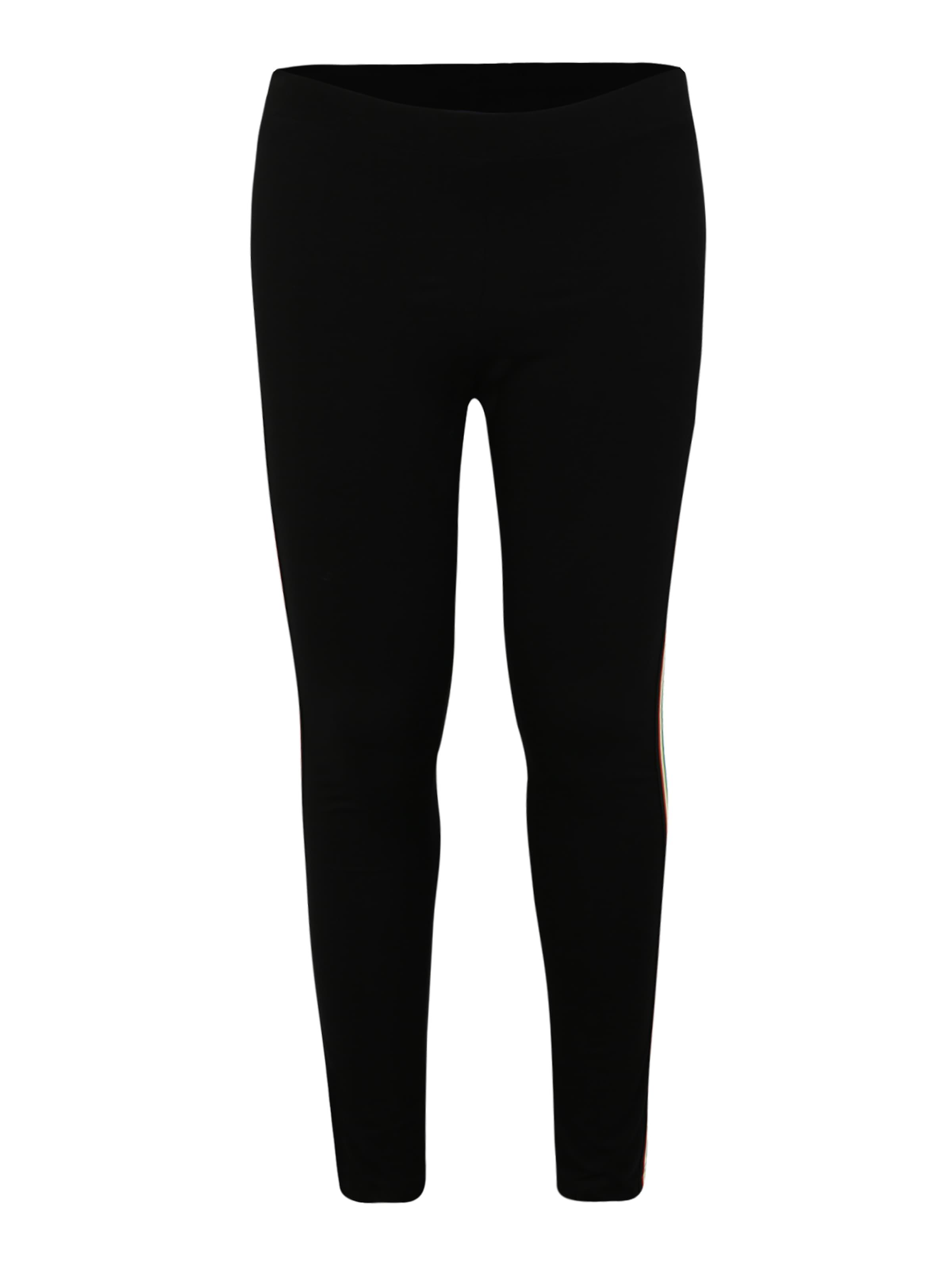 De CouleursNoir Multicolor Urban Leggings' 'ladies Side Classics Mélange Curvy Leggings En Taped TlcFKJ1