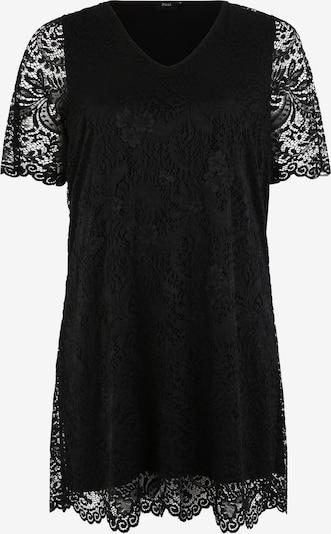 Zizzi Jurk 'MNOEMI' in de kleur Zwart, Productweergave