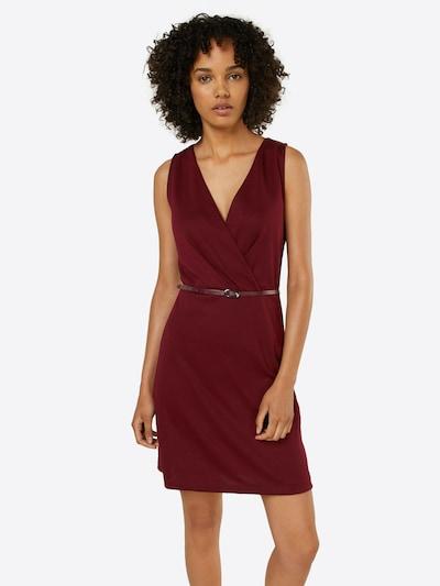 ABOUT YOU Kleid 'Ludmilla Dress' in burgunder: Frontalansicht