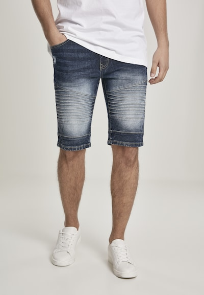 SOUTHPOLE Shorts in navy, Modelansicht