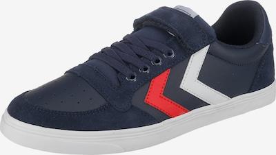 Hummel Sneaker in dunkelblau / rot / weiß, Produktansicht