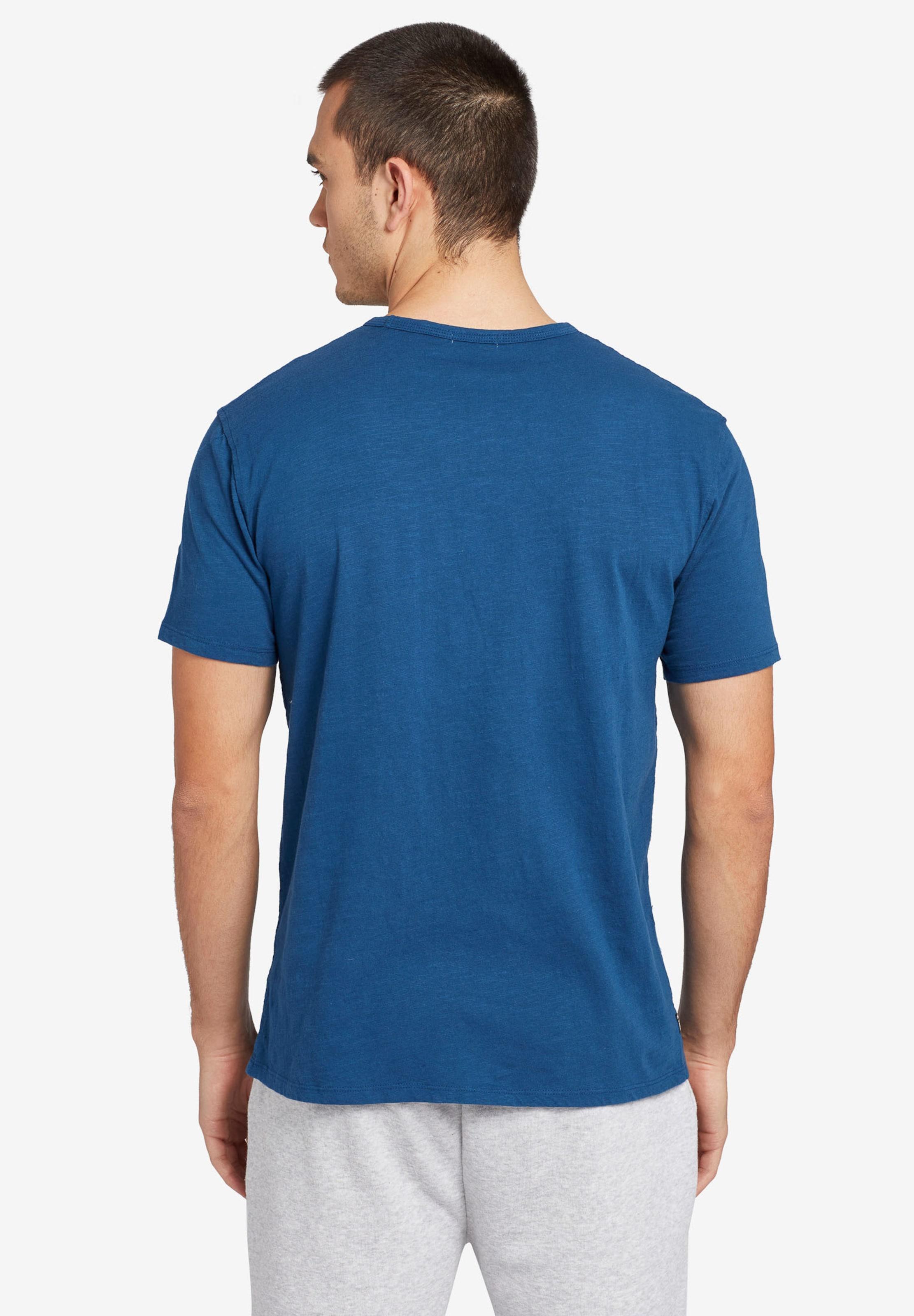 Khujo In Blau Finn' ' T shirt WDH2Y9EI
