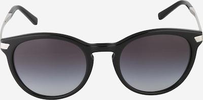Michael Kors Sonnenbrille aus transparentem Kunststoff in grau / schwarz, Produktansicht