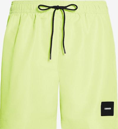 Calvin Klein Underwear Badeshorts in neongelb, Produktansicht