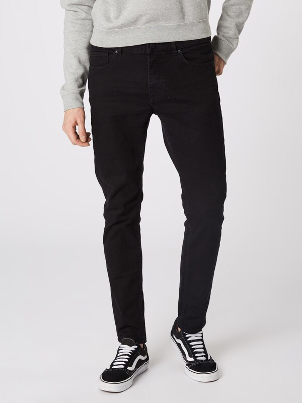 Only & Sons Jeans 'onsLOOM BLACK DCC 0448 NOOS' in de kleur Black denim: Vooraanzicht