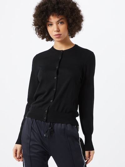 Filippa K Strickjacke 'Merino' in schwarz, Modelansicht