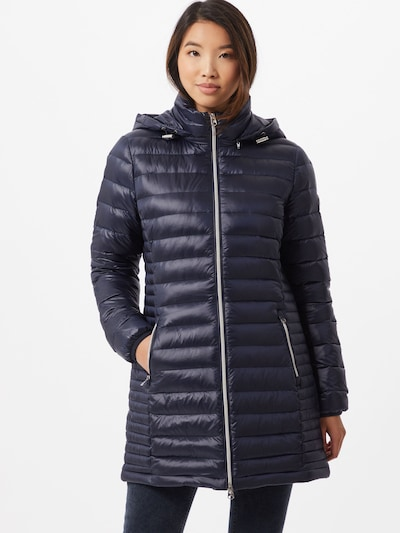 Geacă de iarnă 'Essential' Calvin Klein pe albastru noapte: Privire frontală