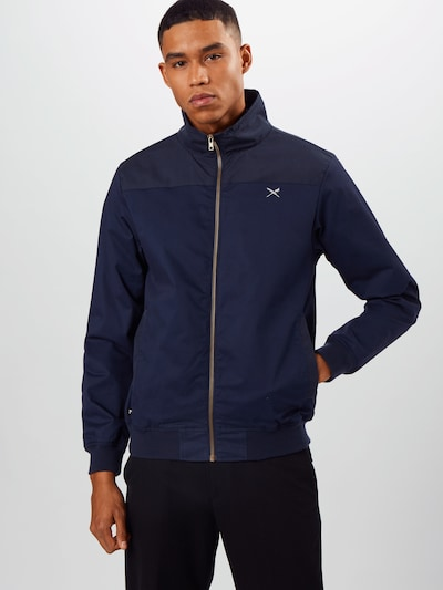 Iriedaily Jacke 'GSE' in navy: Frontalansicht