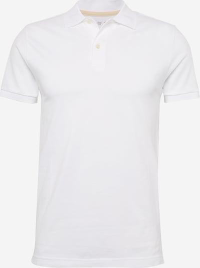 GAP T-Shirt 'V-BASIC PIQUE' en blanc, Vue avec produit