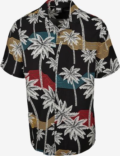 Urban Classics Hemd in mischfarben / schwarz / weiß, Produktansicht