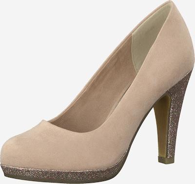 MARCO TOZZI Čevlji s peto | puder barva, Prikaz izdelka