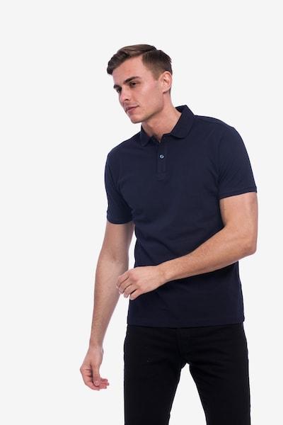 Tom Barron Poloshirt in dunkelblau, Produktansicht