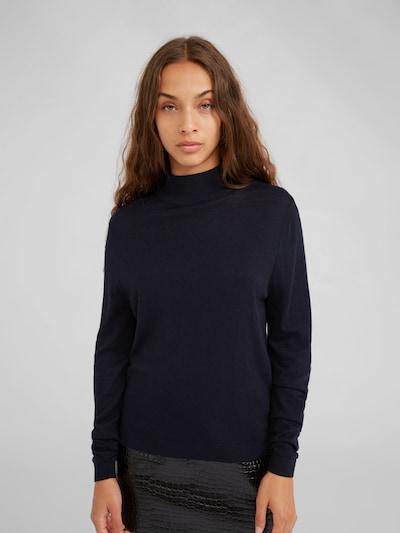 EDITED Pullover 'Antoine' in blau, Modelansicht