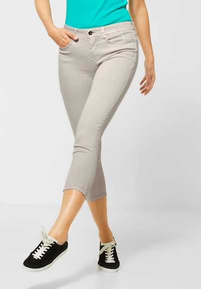 STREET ONE Jeans in hellgrau, Modelansicht