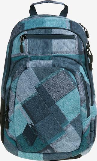 NitroBags Rucksack 'Stash' in hellblau / petrol, Produktansicht