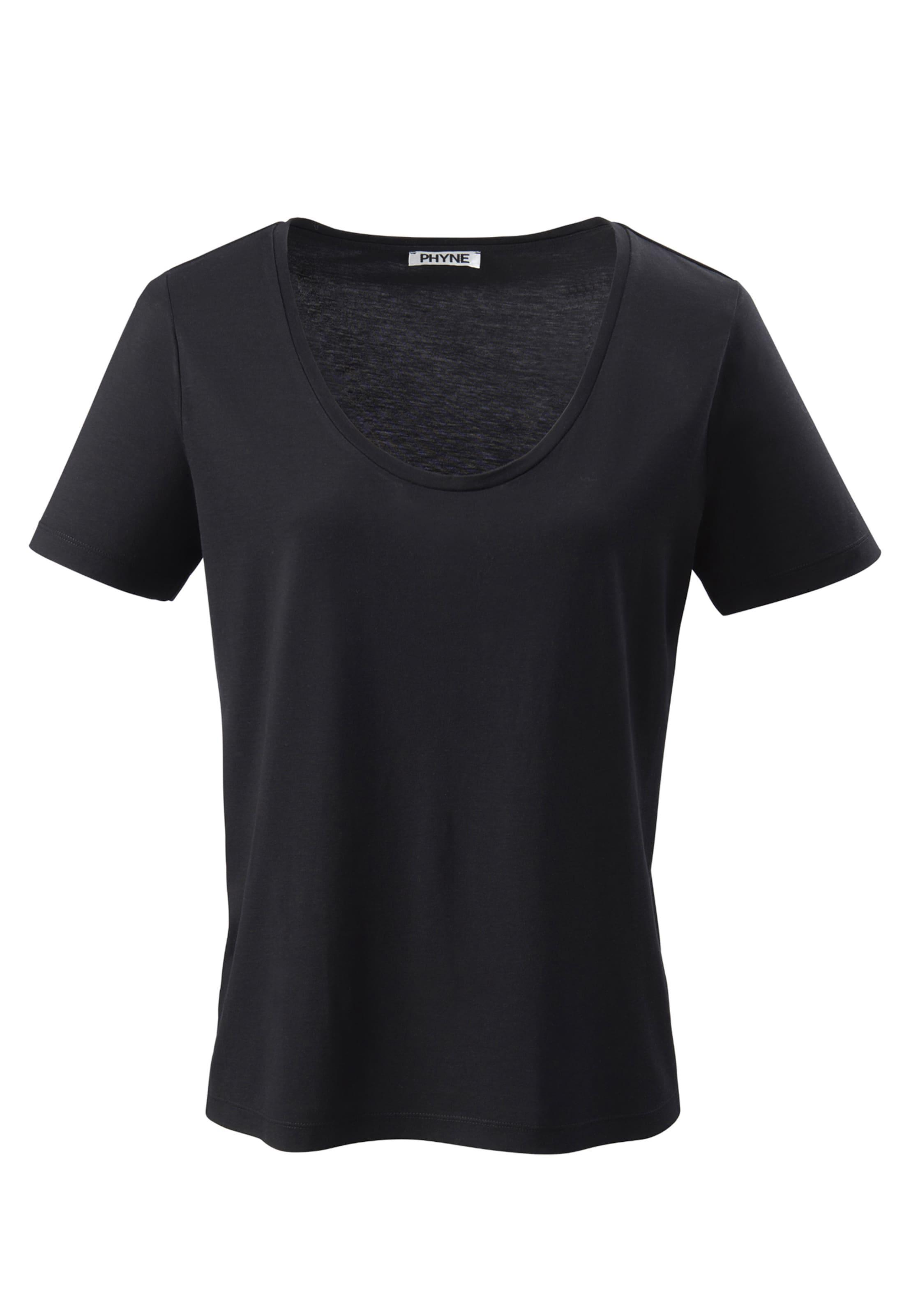 Phyne T Phyne shirt En shirt Noir T LAj354R