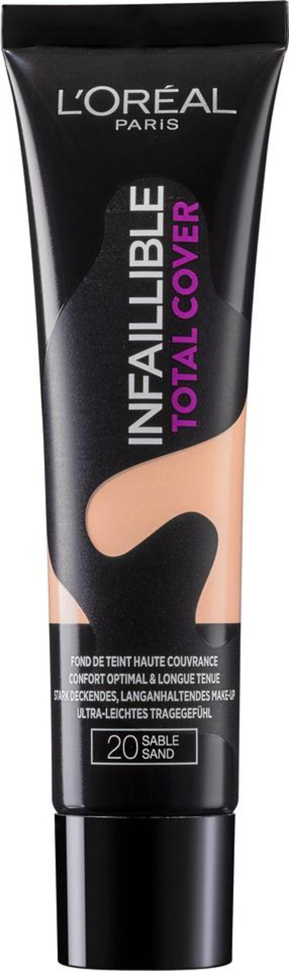 L'Oréal Paris 'Infaillible Total Cover Foundation', Make-Up