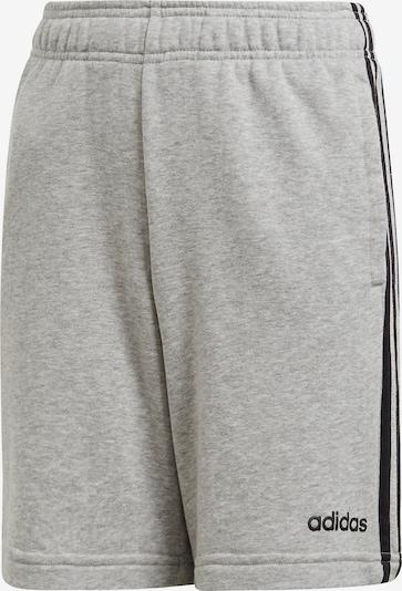 ADIDAS PERFORMANCE Sweatshorts 'E 3S KN' in graumeliert / schwarz, Produktansicht
