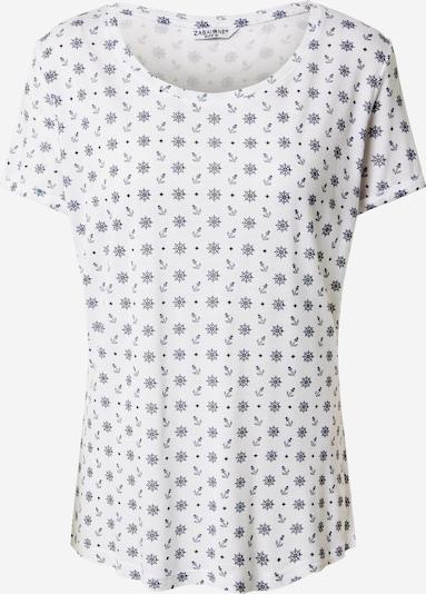 ZABAIONE Shirt 'Sabine' in dunkelblau / weiß, Produktansicht