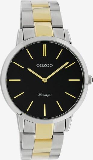 OOZOO Uhr 'C20104' in gold / schwarz / silber, Produktansicht