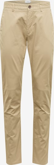 FARAH Pantalon chino 'ELM' en sable: Vue de face