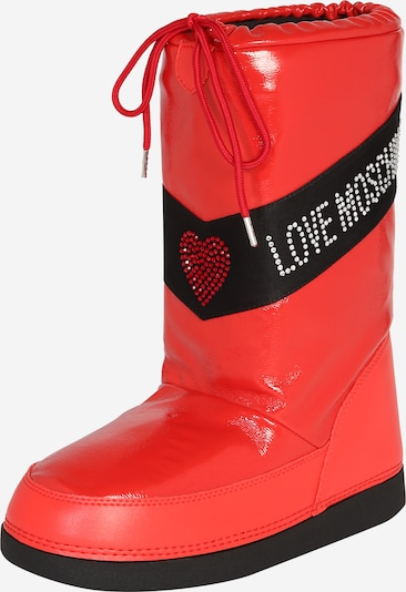 Love Moschino Snow boots 'SKI BOOT' in Red / Black, Item view