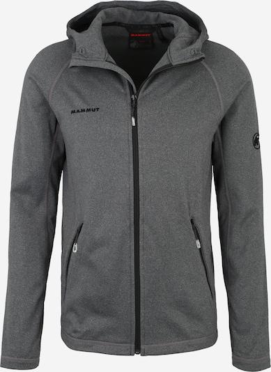 MAMMUT Sweatjacke 'Runbold' in graumeliert / schwarz, Produktansicht