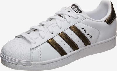 ADIDAS ORIGINALS Sneaker 'Superstar' in schwarz / weiß: Frontalansicht