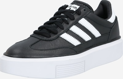 ADIDAS ORIGINALS Sneaker 'Sleek Super' in schwarz / weiß, Produktansicht