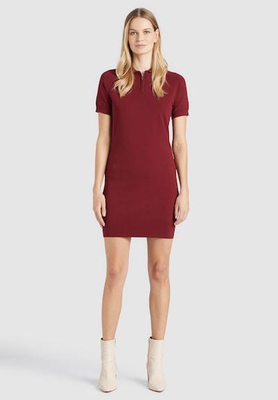 khujo Kleid ' PANNA ' in rot, Modelansicht