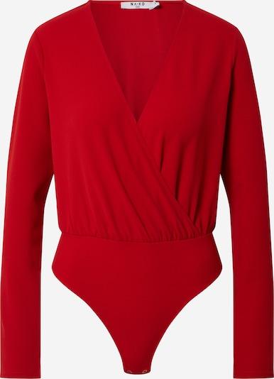 NA-KD Shirt in rot, Produktansicht