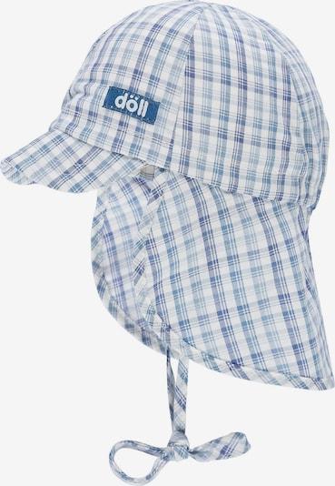 DÖLL Schirmmütze in blau / weiß: Frontalansicht