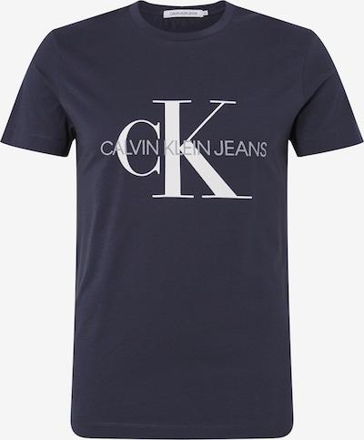Calvin Klein Jeans T-Shirt en bleu foncé: Vue de face