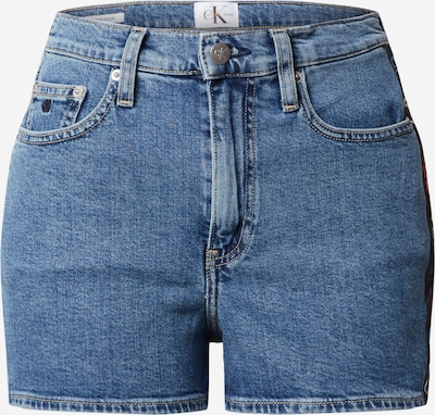 Calvin Klein Jeans Jeans 'HIGH RISE SHORT' in blue denim, Produktansicht