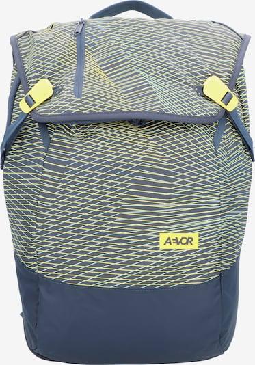 AEVOR Rucksack in marine / gelb, Produktansicht