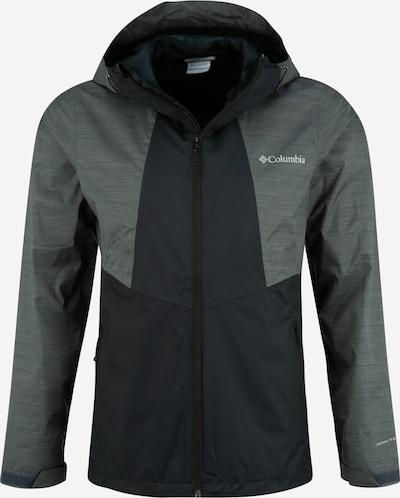 COLUMBIA Sporta jaka 'M Inner Limits II Jacket' tumši pelēks / melns, Preces skats
