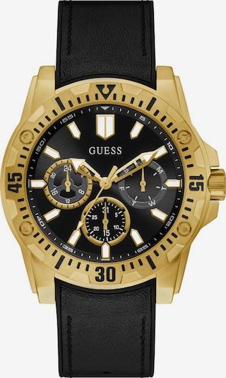 GUESS Uhr 'GUARDIAN, GW0054G1' in gold / schwarz, Produktansicht