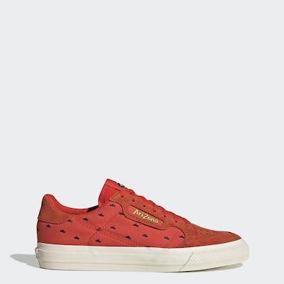ADIDAS ORIGINALS Sneaker 'Continental Vulc' in grün / orange / schwarz, Produktansicht