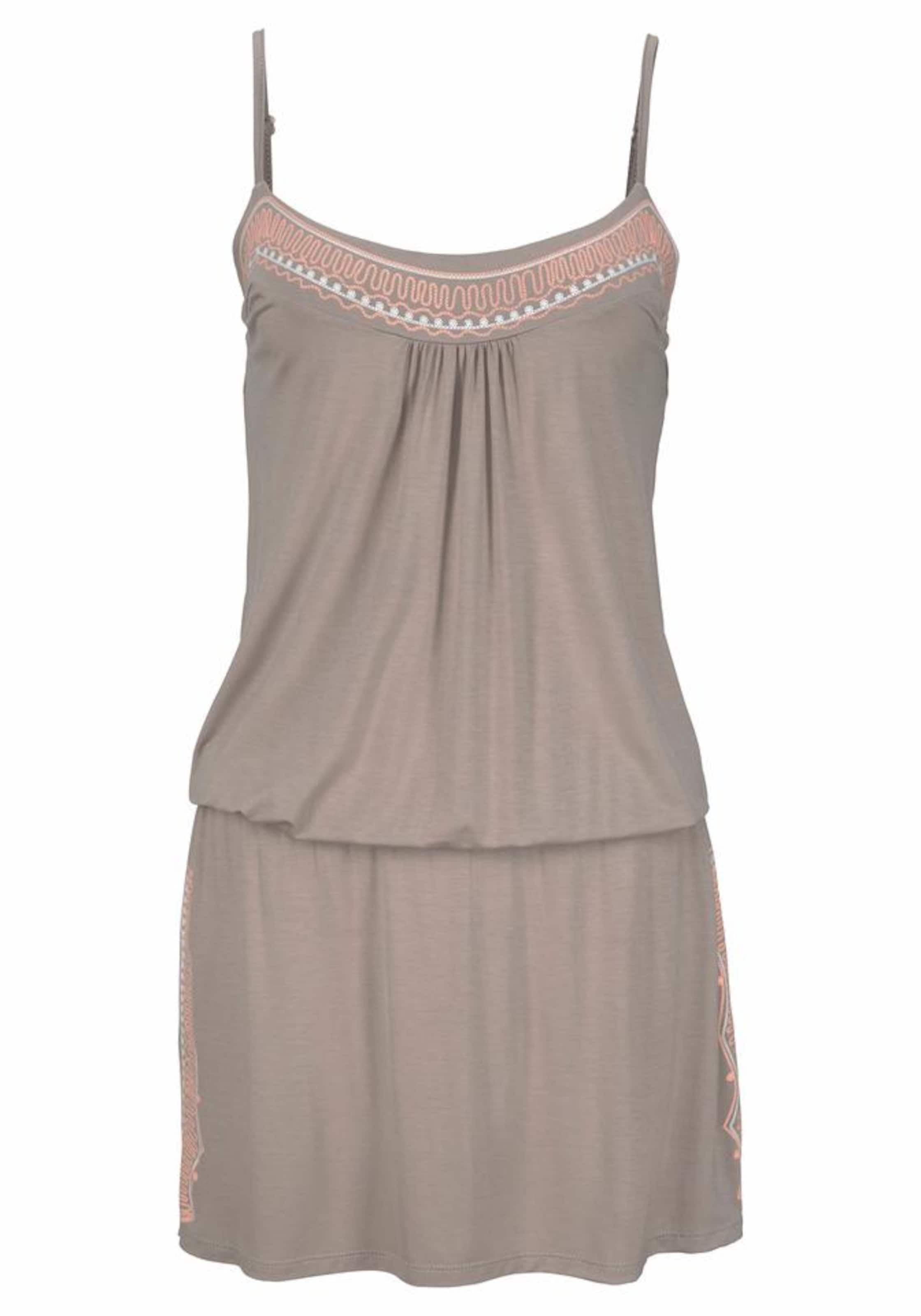 Strandkleid Buffalo Strandkleid Strandkleid Taupe In Taupe Buffalo In Buffalo EIDH29W