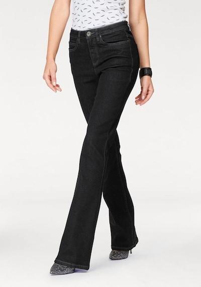 ARIZONA Bootcut-Jeans 'Comfort-Fit' in schwarz, Modelansicht