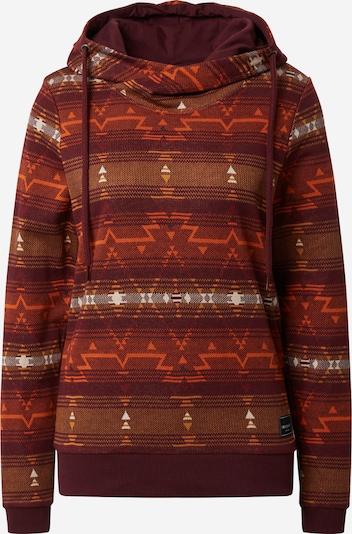 Iriedaily Sweater majica 'Sekani Turtle' u boja vina, Pregled proizvoda