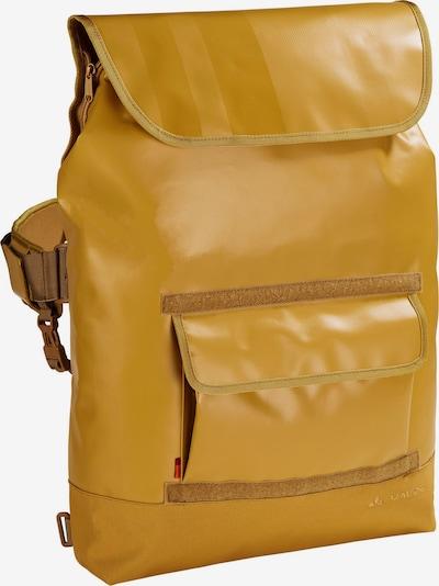 VAUDE Sporttas 'Martin' in de kleur Mosterd, Productweergave