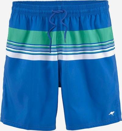 KangaROOS Shorts in blau / türkis / weiß, Produktansicht