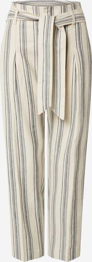krém / szürke Lauren Ralph Lauren Élére vasalt nadrágok 'CADBY ', Termék nézet
