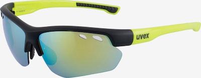 UVEX sportstyle 115 Sonnenbrille in gelb / schwarz, Produktansicht