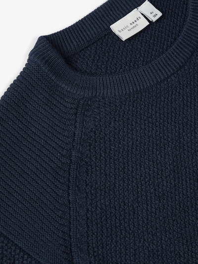 NAME IT Pullover in nachtblau: Frontalansicht