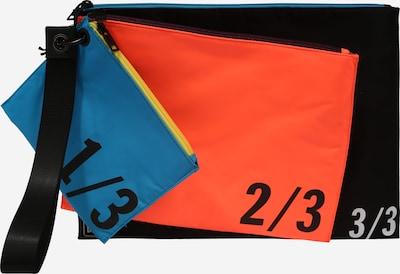 DIESEL Etui 'ITSAFANJOB' in blau / orange / schwarz, Produktansicht