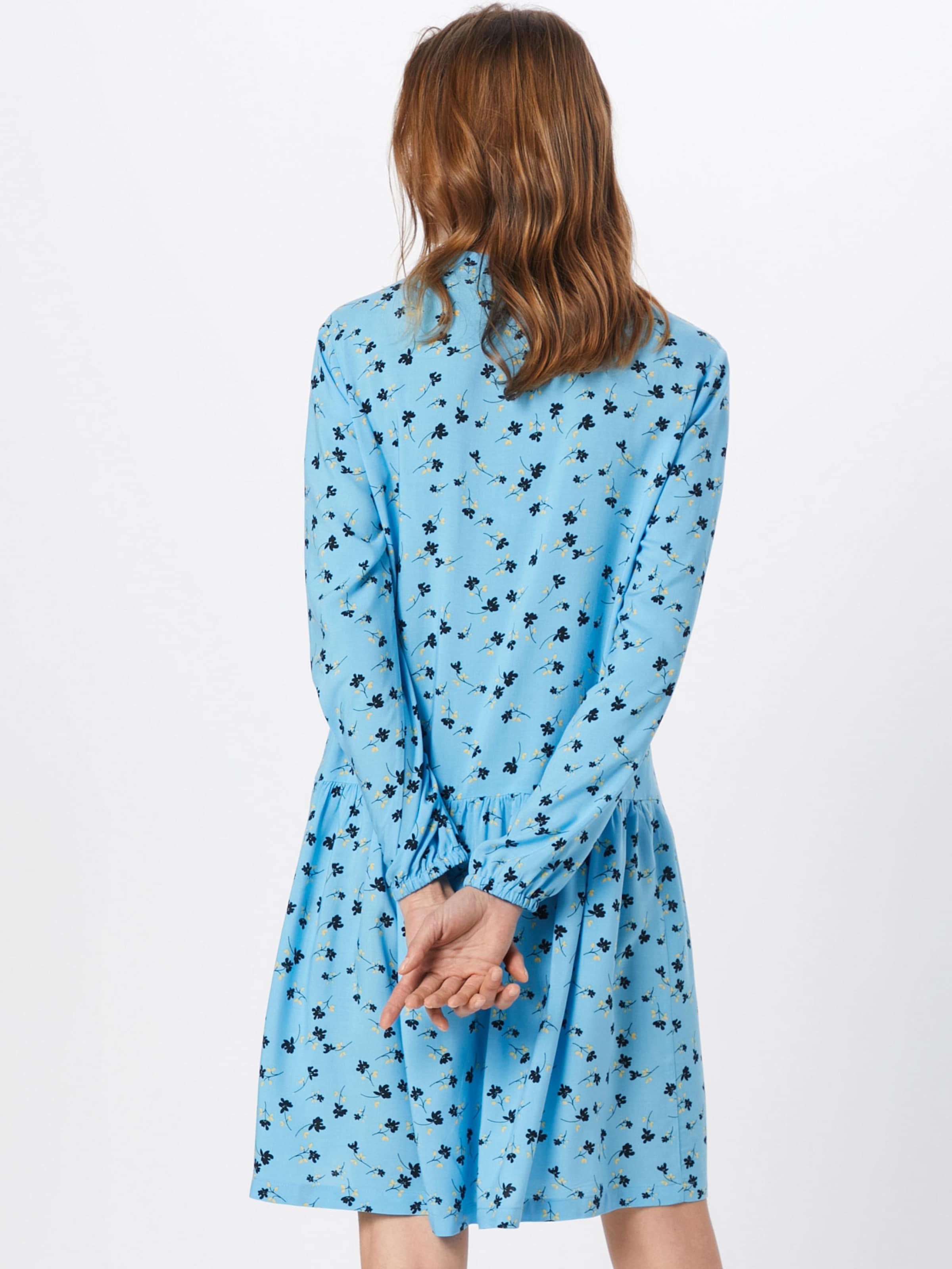 HellblauDunkelblau Kleid In Gelb Copenhagen 'turid' Moss zSVpqUMG