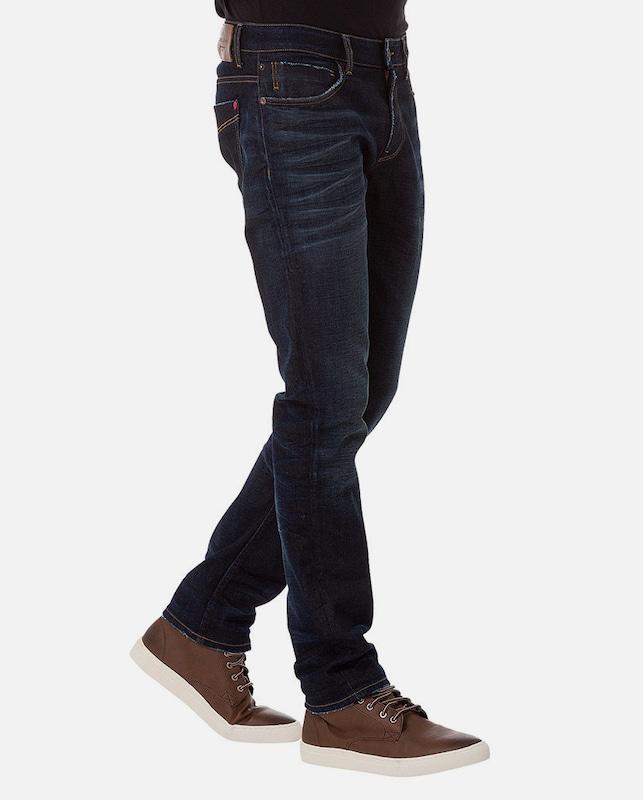 En Cross Jeans 'johnny' Bleu Jean Denim 7bgYyf6